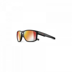 Julbo Stream Reactiv Performance Lunettes de soleil Homme, black/red/multilayer red Lunettes