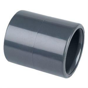 Centrocom Raccord PVC pression Manchon PVC pression à coller &Oslash50