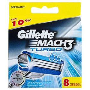 Gillette Mach3 Turbo (Ancienne version) - Recharges de Rasoir
