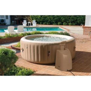Intex Spa gonflable rond - 4 Places