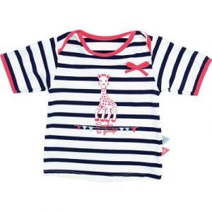 Mayoparasol Tee-shirt anti-UV manches courtes Sophie la Girafe en croisière fille (24 mois)