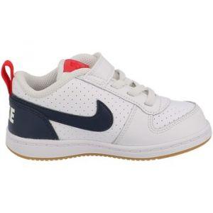 Nike Chaussures enfant Court borough low (tdv blanc - Taille 21