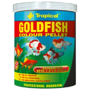 Tropical Goldfish Colour Pellet 100 ml
