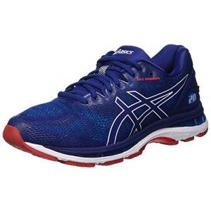 Asics BTE GEL NIMBUS 20 M - BLEU - homme - chaussure running