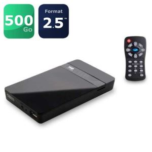 "WE Travel HD 500 Go - Disque dur multimédia 2.5"" USB 3.0 Composite HDMI"