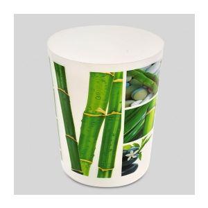 Poubelle de salle de bain tiges bambou 19 5 x 24 cm for Poubelle de salle de bain bambou