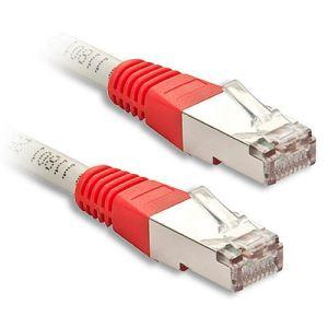 Lindy 45101 - Câble réseau Patch croisé Cat.6 S/FTP 0,5 m.