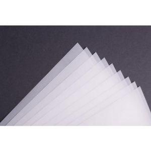 Clairefontaine 975106C - Bloc encollé de 40 feuilles de Papier Calque, 110 g/m², A4