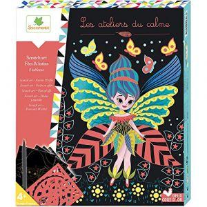 Sycomore Scratch art : fées et lutins