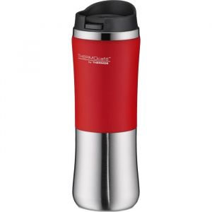Thermos Brilliant Bouteille Isotherme - 300ml - Gris / Rouge -