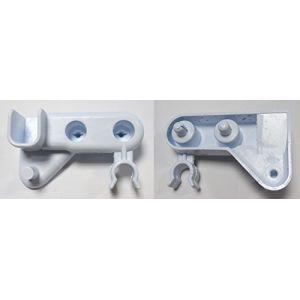 Scholtes Butoir blanc droite portillon h.63x13 pour réfrigérateur