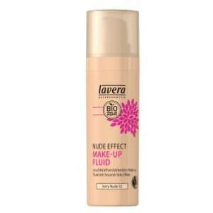 Lavera Nude Effect Make-Up Fluid Fonds de Teint Ivory Nude 02