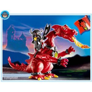 Playmobil 3327 - Dragon rouge et Chevalier