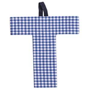 JoJo Maman Bébé Lettre T en tissu
