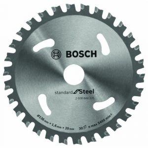 Bosch Lame de scie circulaire Ø 136 x 20mm - 30 dents - FWF tronçonneuse métal à sec sans fil Cordless 2608644225