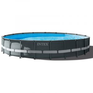 Intex Piscine tubulaire Ultra XTR Frame ronde 6,10 x 1,22 m