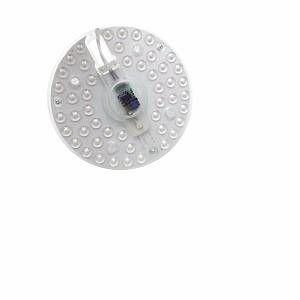 Tube LED T9 36W 230V 120 Plaque Circulaire Plafond Ø207 - couleur eclairage : Blanc Chaud 2300K - 3500K
