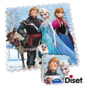 Diset Tapis en mousse puzzle La Reine des Neiges