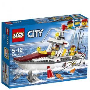 Lego 60147 - City : Le bateau de pêche