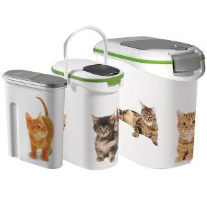 Curver Container à croquettes chat - 10 litres