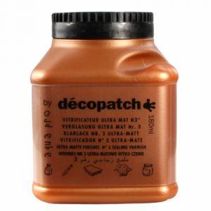 decopatch Vernis vitrificateur ultra mat 180 ml