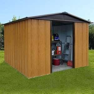 Yardmaster Abri de jardin métal 9,03 m²