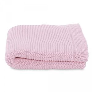 Chicco Couverture Tricot En Maille 100% Coton Miss Pink