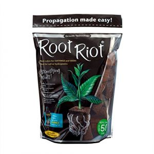 Growth Technology Ltd Root riot sac de 50 bouchons de bouturage