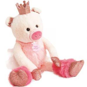 Histoire d'ours Cochon rosette Les petits twist 35cm HO2849 Rose - Taille Taille Unique