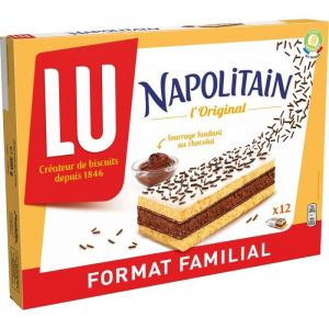Lu Napolitain Classic Individuel Format Familial 360g