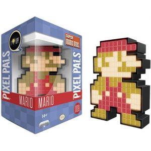 PDP Figurine Pixel Pals Light Up Super Mario World Mario