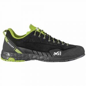 Millet Amuri Leather M, Chaussures de Randonnée Basses Hommes, (Black-Noir 0247), 44 2/3 EU