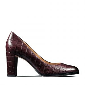 Clarks Chaussures escarpins KAYLIN CARA rouge - Taille 36,37,38,39,40,41,42,35 1/2,37 1/2,41 1/2,39 1/2