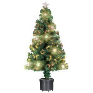 Christmas Gift Arbre de Noël fibre optique 60 branches (60 cm)