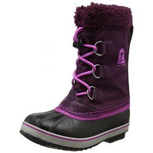 Sorel Yoot Pac Nylon, Bottes de Neige Fille, Violet (Purple Dahlia, Foxglove), 38 EU