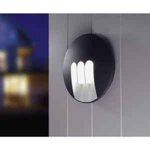 Lutec Applique murale LED extérieure ECO-Light MASK 1871 GR LED intégrée anthracite