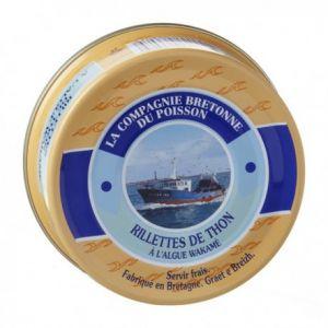 Rillettes de thon à l'algue Wakamé (78 Gr)