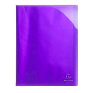 Exacompta 85876E - Protège-documents IDERAMA PP, 80 vues, violet