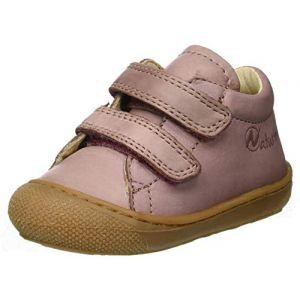 Naturino Cocoon VL, Sneakers Basses bébé Fille, Rose (Rosa Antico 0m01), 23 EU