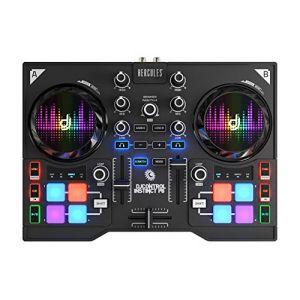 Hercules DJControl Instinct P8 - Surface de Contrôle MIDI DJ