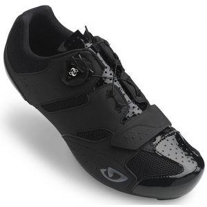 Giro Savix Road, Chaussures de Vélo de Route Homme, Multicolore (Black 000), 41.5 EU