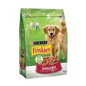 Friskies Adult Avec Boeuf, Céréales et Légumes - 3 kg