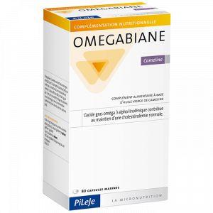 Pileje Omegabiane Cameline - 80 capsules