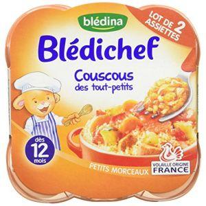 Blédina Blédichef Couscous des tout-petits 2 x 230 g - dès 12 mois