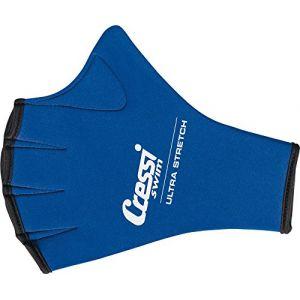 Cressi Swim Gloves - Gants Palmés pour la Natation en Premium Néoprène
