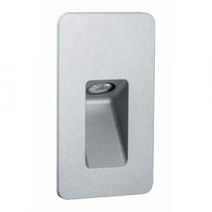 Paulmann Spot LED extérieur encastrable LED intégrée 93808 blanc chaud 2.4 W blanc (mat)