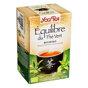 Yogi Tea Équilibre du thé vert - Infusion Bio au thé vert, citronnelle et menthe poivrée