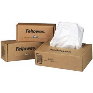 Fellowes 3608401 - Boîte de 50 sacs récupérateurs pour destructeur de documents, 94 litres