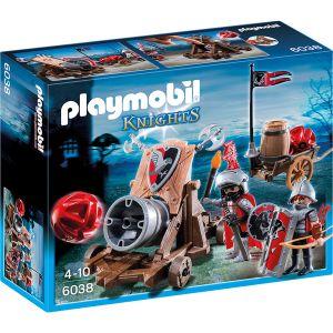 Playmobil 6038 Knights - Chevaliers de l'Aigle avec canon géant