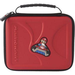 Bigben Console Nintendo 2 DS et 3 DS - Housse de transport - Mario Kart - Rouge